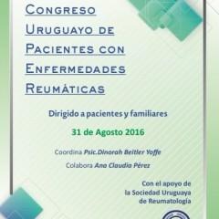 APSUR en el Primer Congreso Uruguayo de Pacientes con Enfermedades Reumáticas